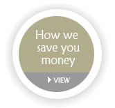 How we save you money